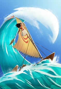 """""""I will carry you here in my heart You'll remind me That come what may, I know the way I am Moana!"""""""