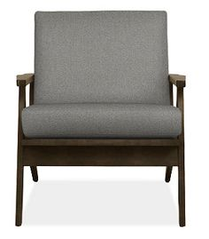 Sanna chair from Room and Board reupholstered in something neutral.