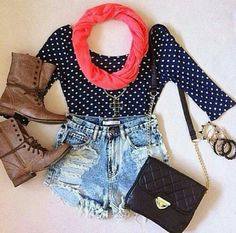 Combat boot outfit