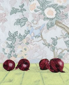 Holly Coulis   Onions, 2011, oil on canvas