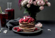 Palačinkový dort - rychlý, jednoduchý a zdravý recept | Fitrecepty.info Pancakes, Breakfast, Desserts, Food, Morning Coffee, Tailgate Desserts, Deserts, Pancake, Meals