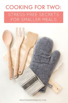 I always have a TON of leftovers when I'm cooking for just the two of us. There's just not a lot of resources for those of us without kids! These 5 tips for cooking for two on a budget are exactly what I needed. Meal planning is a breeze and I'm wasting a lot less food. Yay for saving even more money!
