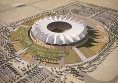 Image 1 of 15 from gallery of Schiattarella Associati Unveils Riyadh Stadium Plans. Courtesy of Schiattarella Associati