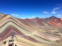 "Vinicunca ""Rainbow"" Mountain. Cusco, Peru"