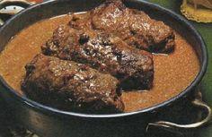 Austrian Beef Olives recipe Zone Recipes, Cooking Recipes, Austria Food, Beef Olives, Austrian Cuisine, Dinner Ideas, Dinner Recipes, Austrian Recipes, Vintage Recipes
