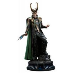 FIGURA ESTATUA MARVEL LOKI 60 CMS … Precio de Ocasión, Sideshow Collectibles te presenta esta estatua de la línea `Premium Format´, tamaño aprox. 60 x 32 x 30 cm.