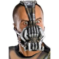 Bane Mask Adult Halloween Accessory Latex Black Easy To Clean For 12 Years &…