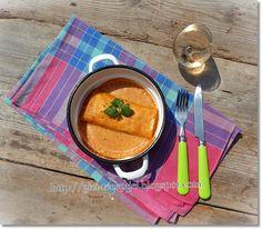 halas palacsinta Thai Red Curry, Ethnic Recipes, Food, Eten, Meals, Diet