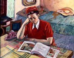 Henri Charles Manguin –  Odette au Turban Rouge (1947)