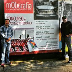 Painel e materiais de comunicação para o concurso e exposição do Clube Pinheiros