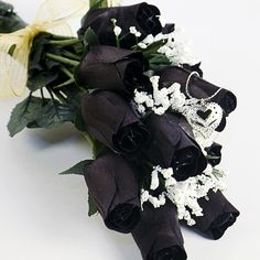 Your half dozen roses are carefully packaged and shipped out in an elegant black or gold rose box so when they arrive they look gorgeous! Just like our awesome Jewelry Candles, our Wax Roses also come with a jewel that will be valued anywhere from $10 to $7500!