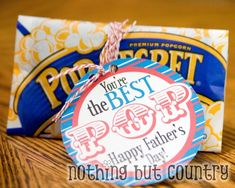 You're the Best POP free printable for Father's Day from Nothing but Country.
