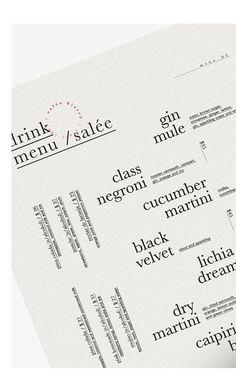Menu Design, Layout Design, Print Design, Branding Design, Logo Design, Design Design, Corporate Design, Design Ideas, Typography Logo