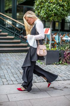 Swede Style: Stockholm Fashion Week |  statement sleeves