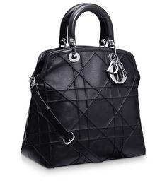 DIOR GRANVILLE - Dior Granville bag in black leather