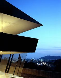 A Fabulous and Beautiful Manor Design With Futuristic Touch For You : View From Scenic Mansion