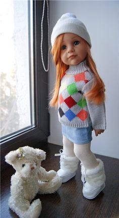 Одежда для кукол Gotz, Journey girls и других подобных куколок. Ручная авторская работа. ПОВТОР НЕ ВОЗМОЖЕН. №1 ПРОДАН 850 №1 / 850р
