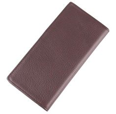 100% Real Genuine Leather Card Holder Purse Wallet