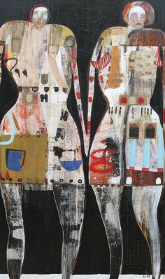 """Wild Girls"" Scott Bergey #art #women #girls"