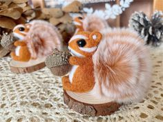 Squirrel Felting Kit Needle Felting Kit Squirrel Felting | Etsy All You Need Is, Beginner Felting, Cute Squirrel, Needle Felting Kits, Starter Kit, Cool Watches, Wool Felt, Objects, Couture