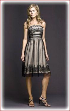 davids bridal bridesmaids dress | Davids Bridal Strapless Tulle Dress for Bridesmaid | Beautiful Fashion ...
