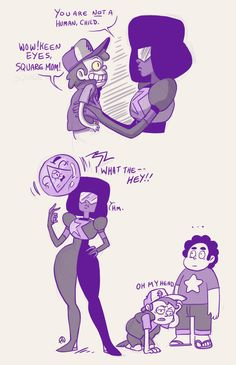 Garnet knows what's up.Steven Falls is too much for me.