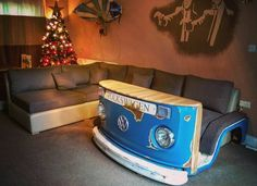 vw bus sofa