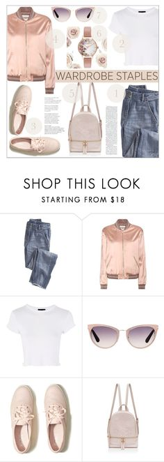 """""""Wardrobe Staples 2017"""" by nans0717 ❤ liked on Polyvore featuring Wrap, Yves Saint Laurent, Topshop, Tom Ford, Hollister Co., Olivia Burton, casual, wardrobeessentials, rosepink and WardrobeStaples"""