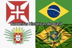 História do Brasil - Bandeiras Históricas