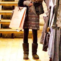 Emma Watson in her BEARPAW boots :)