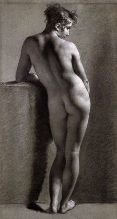 PRUD'HON, Pierre-Paul =) Nude Viewed from Behind