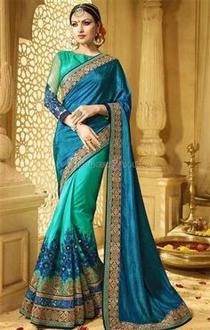 Ineffable Green And Blue Raw Silk Modern Half Saree  #HalfSareeBlouse  #HalfSareesBlouseDesigns #HalfSareeBlouses #HalfSareesDesigns #HalfSareePatterns #DesignerHalfSarees #HalfSareesOnline #DesignersAdnYou #BeautifulHalfSareesDesigns #CheapHalfSareesDesigns #CheapHalfSarees #HalfSareesPatters #EmbroideredHalfSarees #EmbroideredHalfSareesBlouse #Half #Sarees #Blouses #HeavyBlouses #EmbroideredBlouses #HeavyHalfSareesBlouse #HeavyHalfSareesBlouses #HeavyCheapSarees