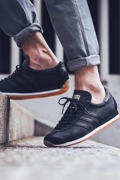 pretty nice 77dc1 54663 ADIDAS County OG Adidas Country, Basket Sneakers, Shoes Sneakers, Nike Free  Shoes,