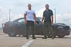 Vin Diesel stars as Dominic Toretto and Paul Walker stars as Brian O'Conner in Universal Pictures' Fast Five - Movie still no 55