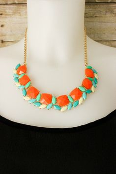 Cut To The Chase Necklace. $18