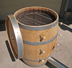 Grand Cru Wine Barrel Smokers Bbq Smoker Bourbon Diy