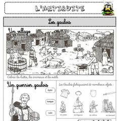 CE1 - Périodes historiques - L'école de Crevette