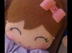 Resultado de imagem para imagens de bonecas de feltro so a face