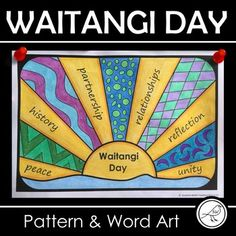 Waitangi Day Art - The Treaty of Waitangi Social Studies Projects, Social Studies Curriculum, Student Learning, Teaching Kids, Kids Learning, School Resources, Teacher Resources, Treaty Of Waitangi, Waitangi Day