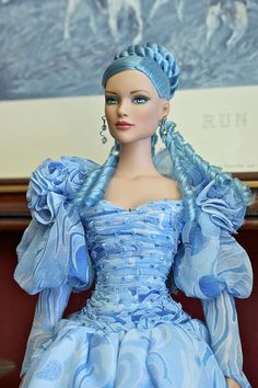 Blue Barbie. Anyone know anything about this doll?