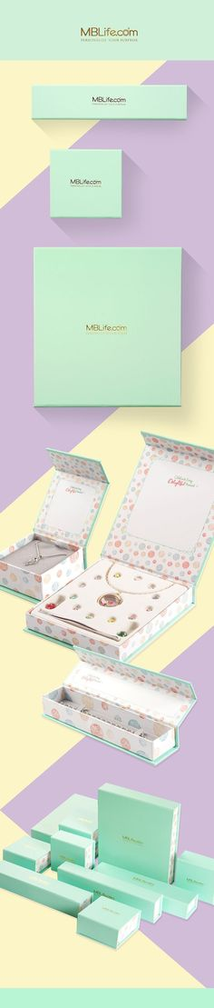 MBLife.com Personalized Jewelry Packaging | Fivestar Branding – Design and Branding Agency & Inspiration Gallery | #PackagingInspiration