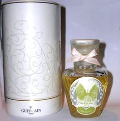 Perfume Ad, Vintage Perfume Bottles, Parfum Guerlain, Lily Of The Valley, Spray Bottle, Container, Beauty, Fragrances, Packaging