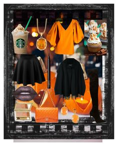 """Autumn"" by cutesycouture ❤ liked on Polyvore featuring Yves Saint Laurent, LE3NO, Salvatore Ferragamo, Lime Crime, Jade Jagger, NARS Cosmetics and Estée Lauder"