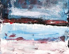 Modern painting Abstract art minimalist textured .  by painting321