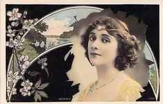 Renée Desprez.  Reutlinger Postcard.  SIP Series 943