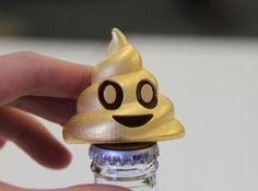 Poop Emoji Bottle Opener - #3DPrint