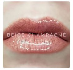 Beige Champagne LipSense in stock now! Facebook: Gettin' Kissy Wit It Instagram: @b2s.mommy #Lipsense #beigechampangelipsense