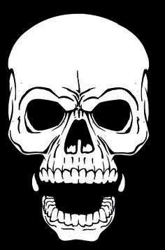 Skull Stencils to Print | Skull Stencils - AirbrushDOC