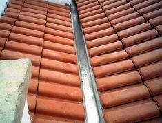 Como construir um telhado Evitar Calhas Embutidas