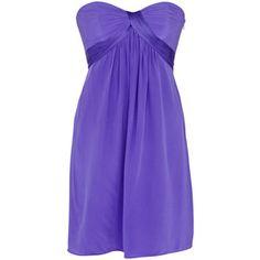 Purple dress, bridesmaid dress?